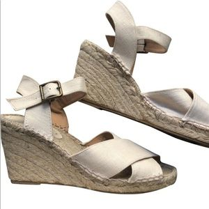 Soludos Criss-Cross Wedge Sandal